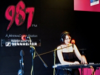 Rebecca at live 987FM