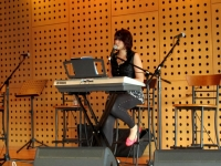 Rebecca performing for Noise Sinagapore